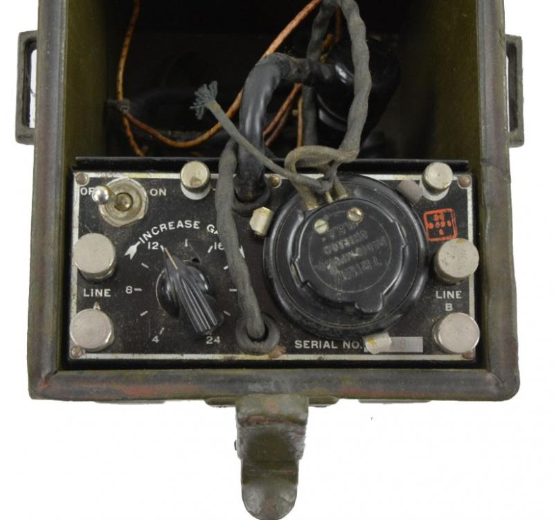 US WW2 Signal Corps Telephone Repeater EE-89-A